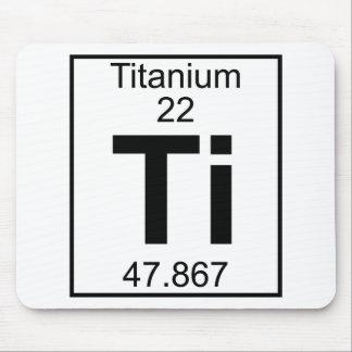 Element 022 - Ti - Titanium (Full) Mouse Pad