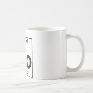 Element 027 - Co - Cobalt (Full) Classic White Coffee Mug