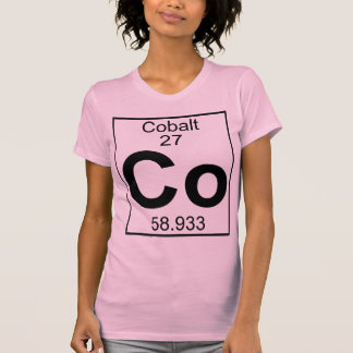 Element 027 - Co - Cobalt (Full) Shirt
