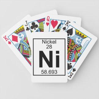 Element 028 - Ni - Nickel (Full) Bicycle Playing Cards