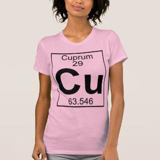 Element 029 - Cu - Cuprum (Full) T Shirt