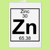 Element 030 - Zn - Zinc (Full) Card