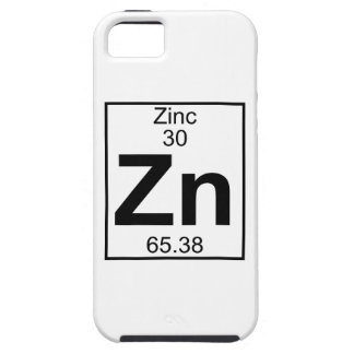 Element 030 - Zn - Zinc (Full) iPhone 5 Covers