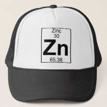 Element 030 - Zn - Zinc (Full) Trucker Hat
