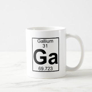 Element 031 - Ga - Gallium (Full) Mugs