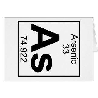 Element 033 - As - Arsenic (Full) Card