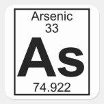 Element 033 - As - Arsenic (Full) Square Sticker