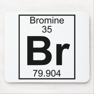 Element 035 - Br - Bromine (Full) Mouse Pad