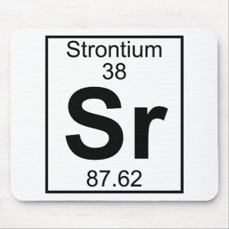Element 038 - Sr - Strontium (Full) Mouse Pad