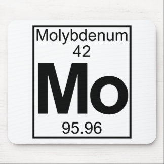 Element 042 - Mo - Molybdenum (Full) Mouse Pad