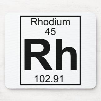 Element 045 - Rh - Rhodium (Full) Mouse Pad