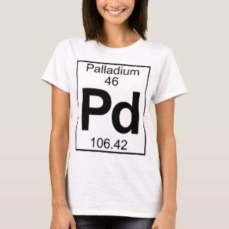 Element 046 - Pd - Palladium (Full) T-Shirt