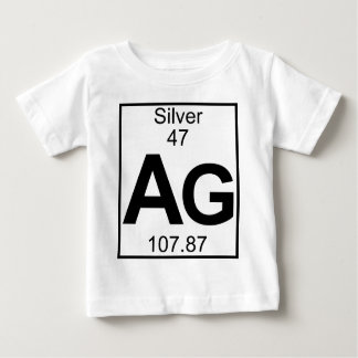 Element 047 - Ag - Silver (Full) Baby T-Shirt