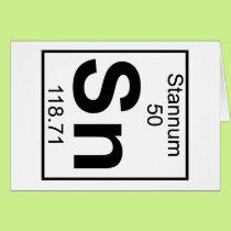 Element 050 - Sn - Stannum (Full) Card