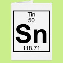 Element 050 - Sn - Tin (Full) Card