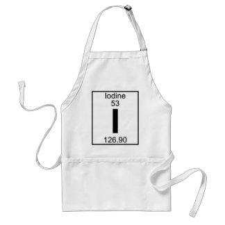 Element 053 - I - Iodine (Full) Adult Apron