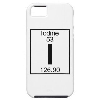 Element 053 - I - Iodine (Full) iPhone 5 Cases
