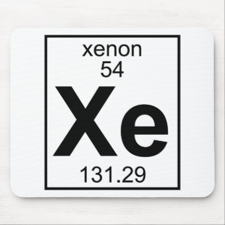 Element 054 - Xe - Xenon (Full) Mouse Pad