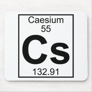 Element 055 - Cs - Caesium (Full) Mouse Pad