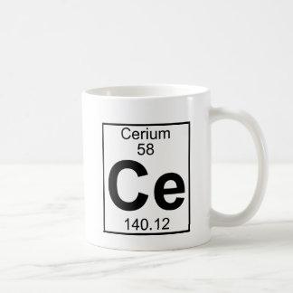 Element 058 - Ce - Cerium (Full) Mugs