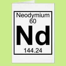 Element 060 - Nd - Neodymium (Full) Card