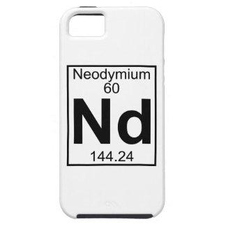 Element 060 - Nd - Neodymium (Full) iPhone 5 Case