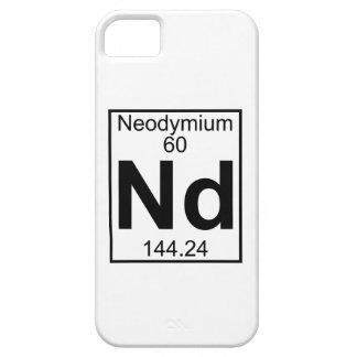 Element 060 - Nd - Neodymium (Full) iPhone 5 Cases
