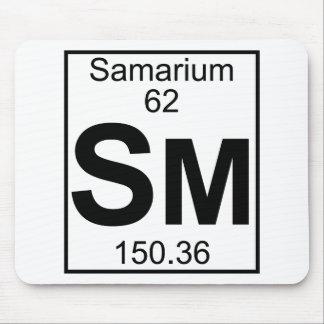 Element 062 - Sm - Samarium (Full) Mouse Pad