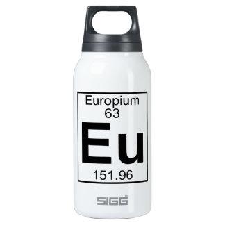 Element 063 - Eu - Europium (Full) 10 Oz Insulated SIGG Thermos Water Bottle