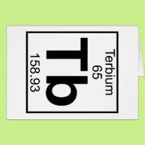 Element 065 - Tb - Terbium (Full) Card