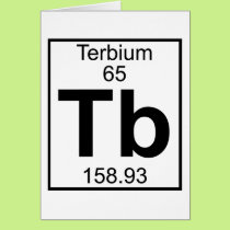 Element 065 - Tb - Terbium (Full) Card