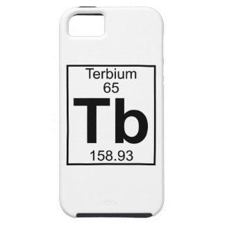 Element 065 - Tb - Terbium (Full) iPhone SE/5/5s Case