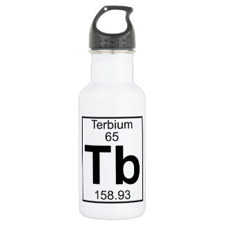 Element 065 - Tb - Terbium (Full) Water Bottle
