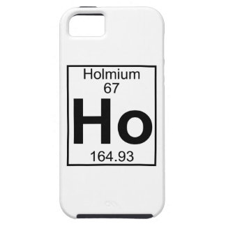 Element 067 - Ho - Holmium (Full) iPhone 5 Covers