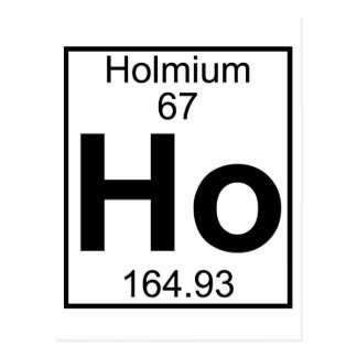 N On Periodic Table Element Holmium Gifts On Zazzle