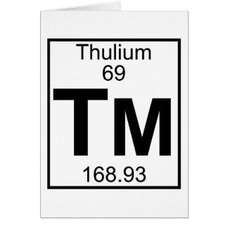 Element 069 - Tm - Thulium (Full) Card