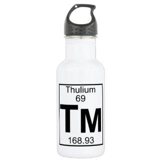 Element 069 - Tm - Thulium (Full) 18oz Water Bottle