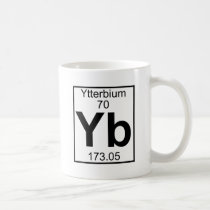 Element 070 - Yb - Ytterbium (Full) Coffee Mug