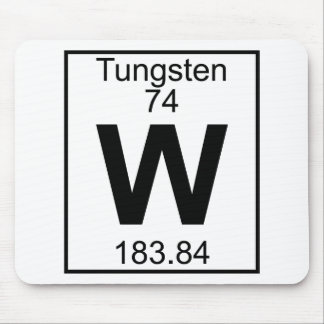 Element 074 - W - Tungsten (Full) Mouse Pad