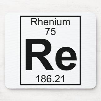 Element 075 - Re - Rhenium (Full) Mouse Pad