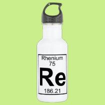 Element 075 - Re - Rhenium (Full) Stainless Steel Water Bottle
