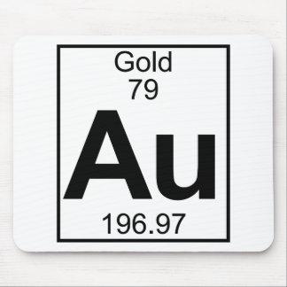 Element 079 - Au - Gold (Full) Mouse Pad