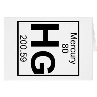 Mercury element cards greeting photo cards zazzle element 080 hg mercury full card urtaz Choice Image