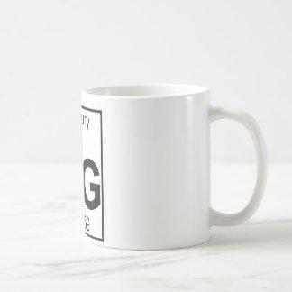 Element 080 - Hg - Mercury (Full) Classic White Coffee Mug