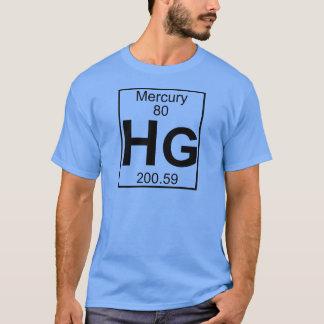 Element 080 - Hg - Mercury (Full) T-Shirt