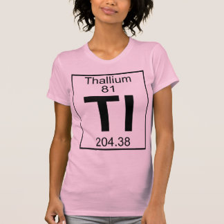 Element 081 - Tl - Thallium (Full) Tee Shirt