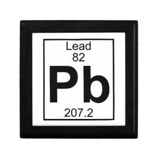 Element 082 - Pb - Lead (Full) Jewelry Box