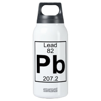 Element 082 - Pb - Lead (Full) Insulated Water Bottle