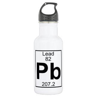 Element 082 - Pb - Lead (Full) 18oz Water Bottle