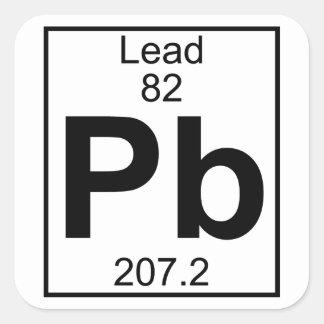 Element 082 - Pb - Lead (Full) Stickers